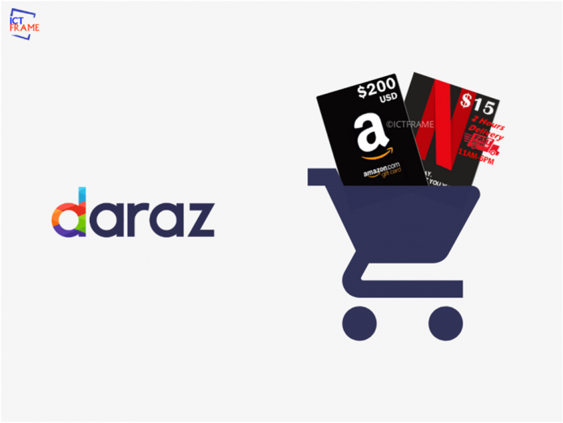 Illegal Amazon and Netflix Accounts Sale on Daraz.com