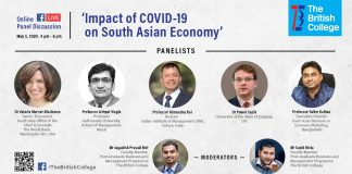 Online Panel Discussion: Impact of COVID-19 on South Asian Economy