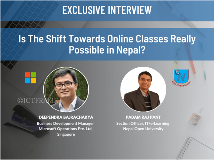 The Shift Towards Online Classes In Nepal