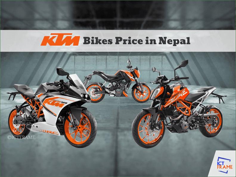 Ktm Bikes Price In Nepal 2020 Update Auto Nepal