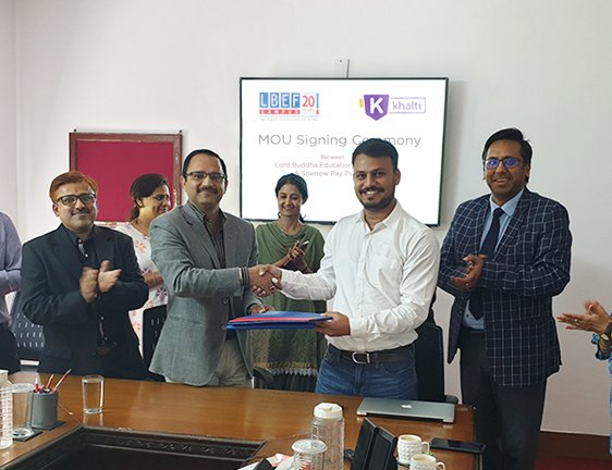 Khalti And LBEF Sign Agreement To Provide Internships