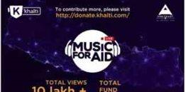 Khalti organized an online fundraiser concert Music for Aid
