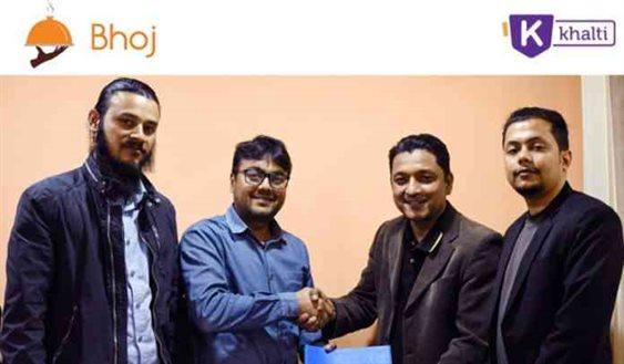 Khalti-Bhoj partnership for online payment service