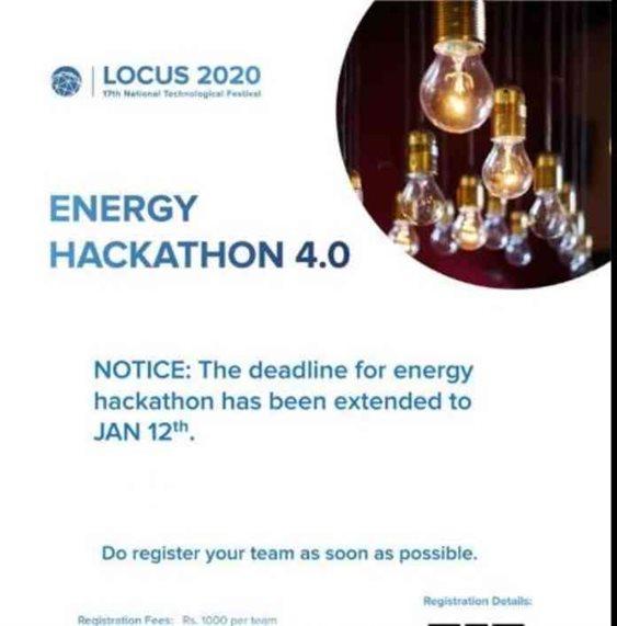 Locus 2020 To Host Energy Hackathon 4.0