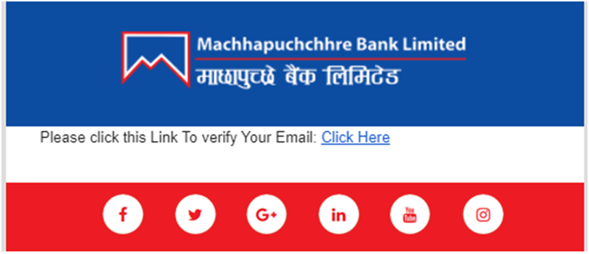 MBL Verification Email