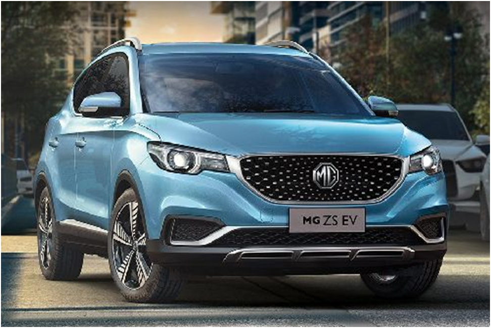 MG ZS EV Extra Features