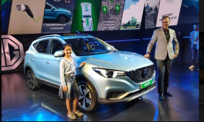 MG ZS Electric SUV Launch In Nepal