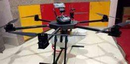 Madhukaa Krishak 1.0 Drone manufactured in Nepal