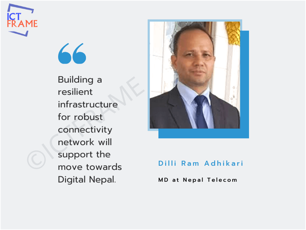 Telco sector support the Digital Nepal movement of the government