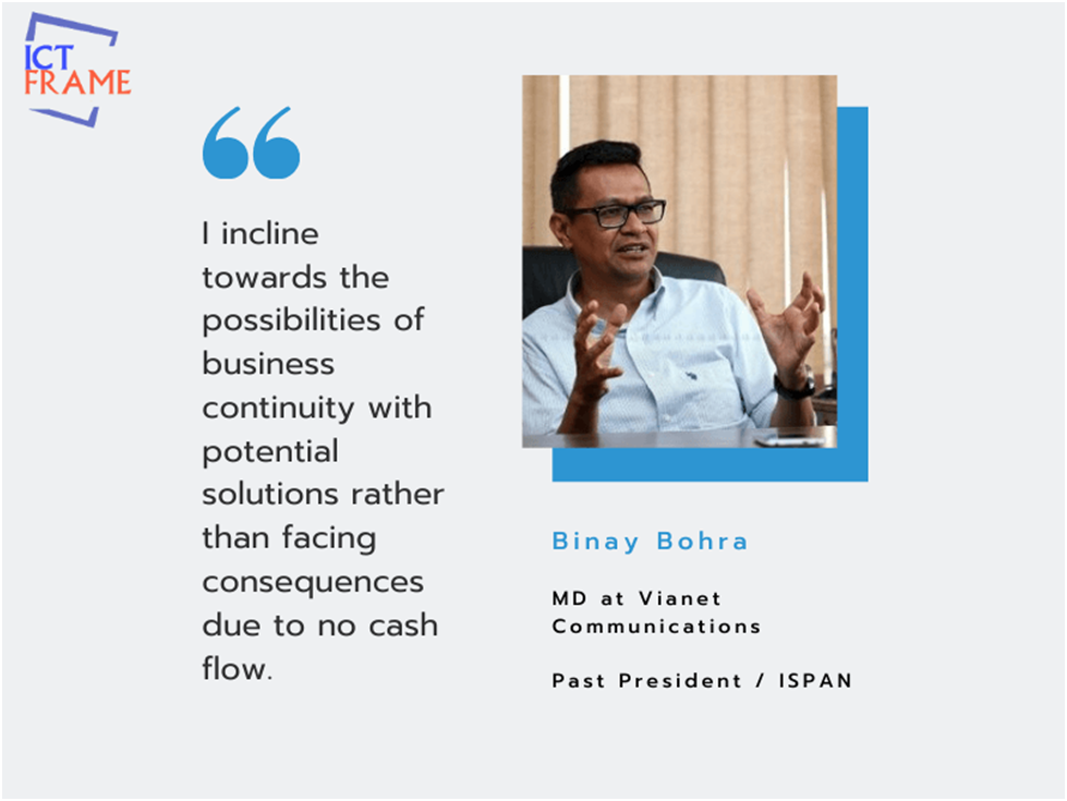 Interview with Mr. Binay Bohra, Managing Director at Vianet Communications