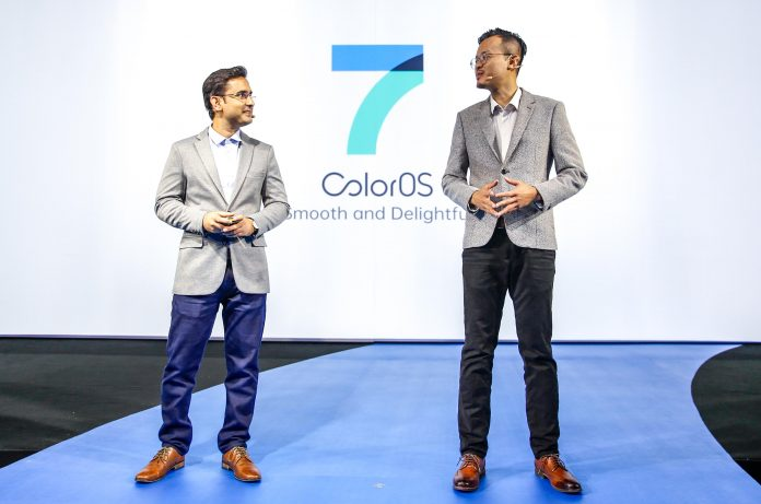 Martin Liu, Senior Strategy Manager of OPPO ColorOS, and Manoj Kumar, Senior Principal Engineer of OPPO ColorOS