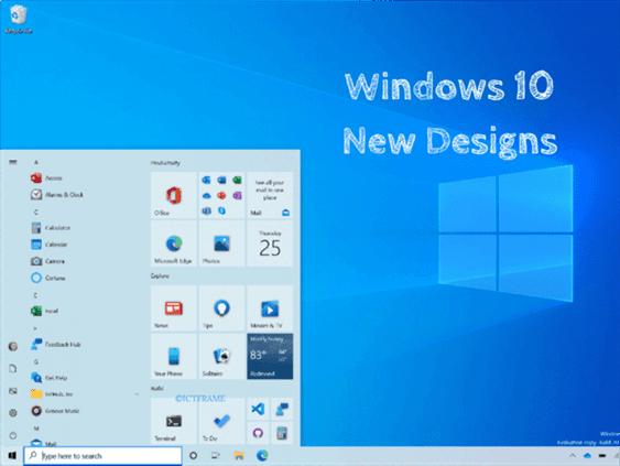 Microsoft Announces New Start Menu Design