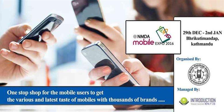 Nepal Mobile Distributors Association Announced MOBILE EXPO 2016