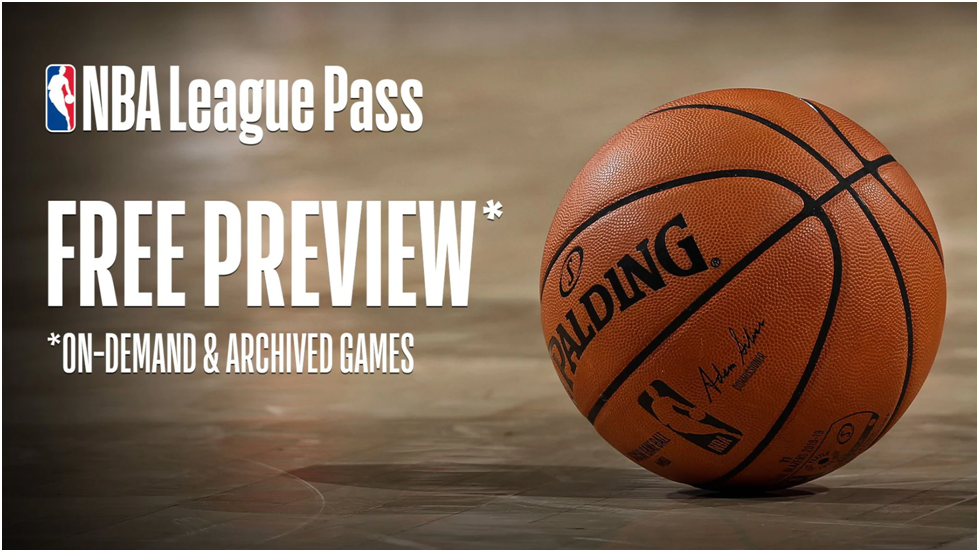 NBA Is Offering Free NBA League Pass To Fans