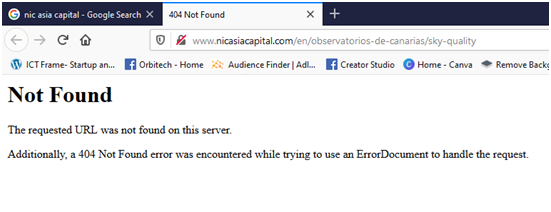 NIC ASIA CAPITAL WEBSITE NOT FOUND