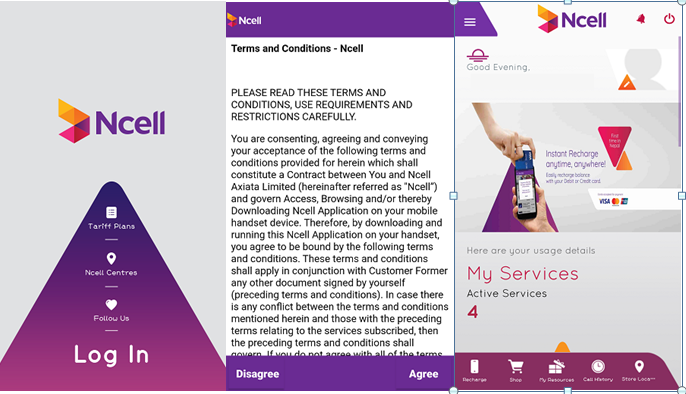Ncell Application Review
