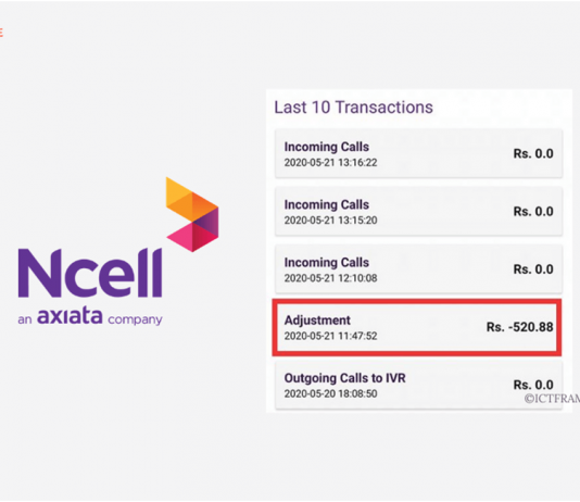 Ncell Charges Balance for Unwanted Subscriptions, Makes Adjustment in the Balance