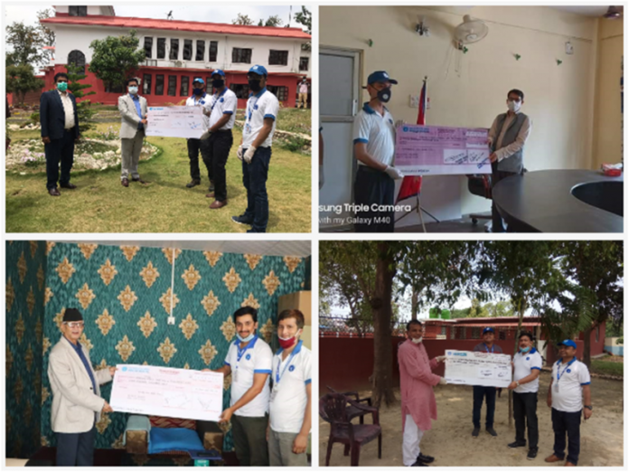SBI Bank of Nepal Provided Financial Support To Provincial Governments