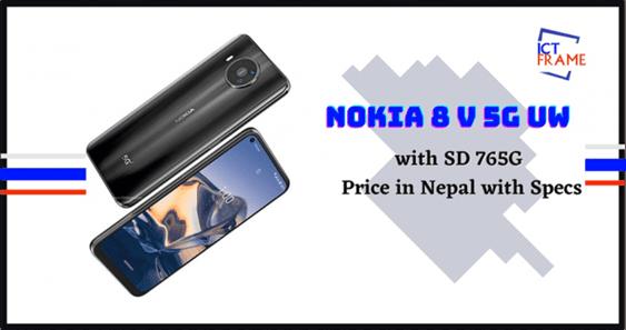 Nokia 8 V 5G UW Price
