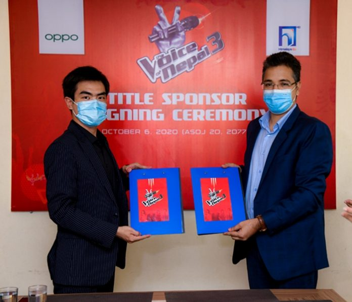 OPPO Collaboration With The Voice of Nepal
