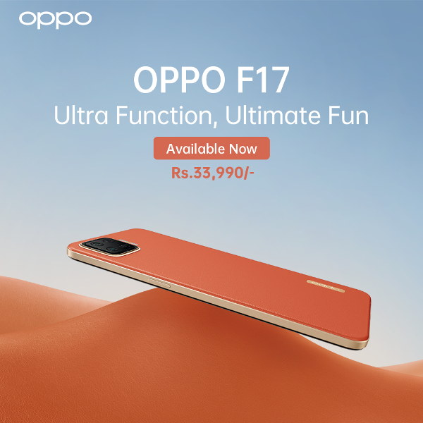 OPPO F17 goes on sale