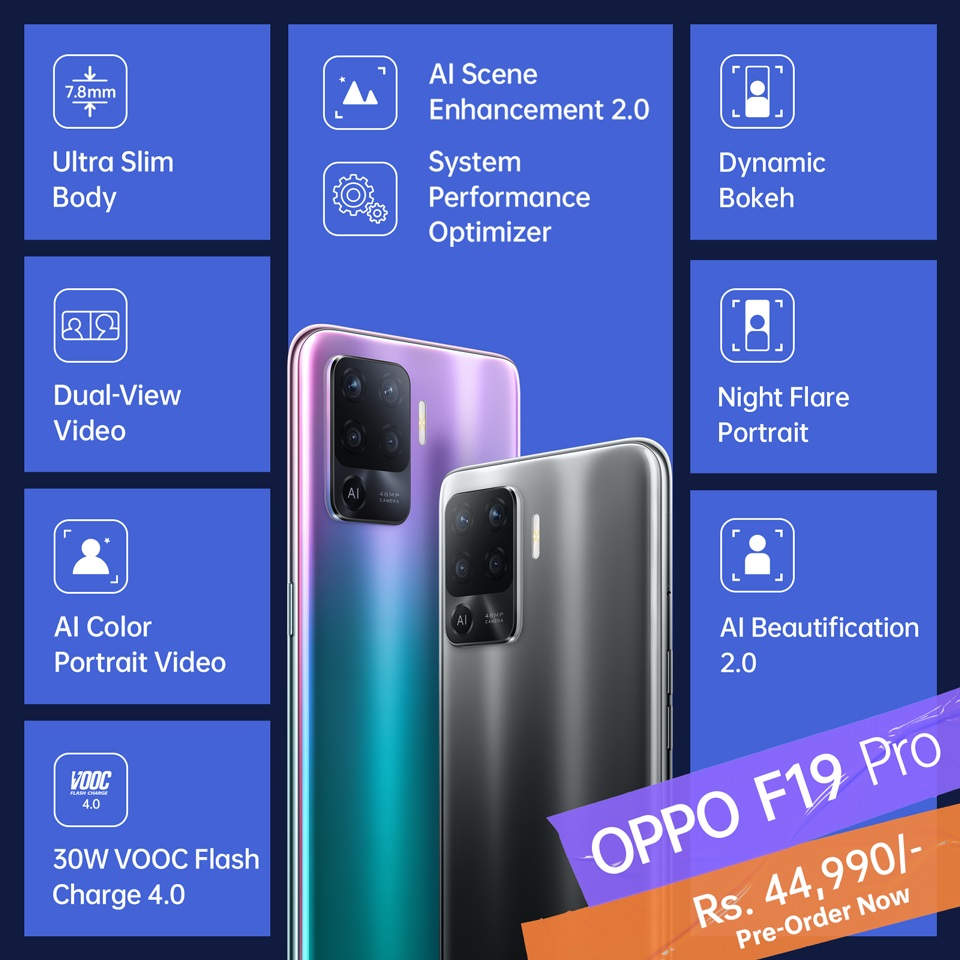 OPPO F19 Features
