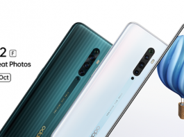 OPPO Reno 2F to Launch on 16th October in Nepal