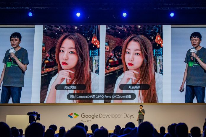 OPPO shows off new CameraX capabilities at Google developer show