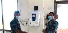 Oakmist Touchless Sanitizer Dispensers
