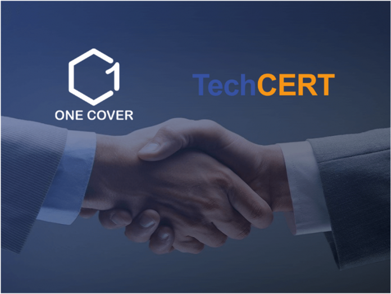 OneCover Signs TechCERT