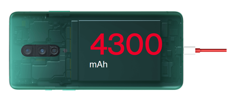OnePlus 8 Battery