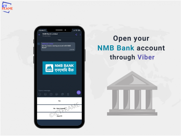 Now You Can Open an Account at NMB Bank Through Viber