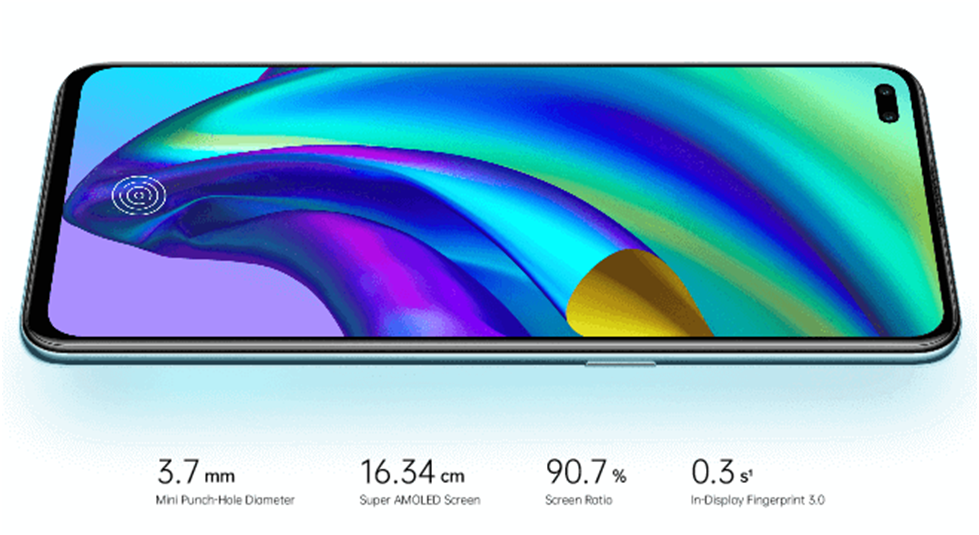 Oppo F17 Display