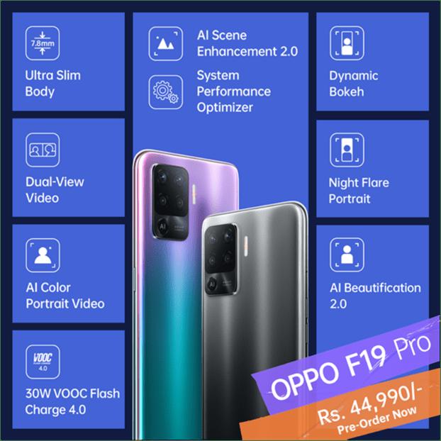 Oppo F19 Pro Price in Nepal