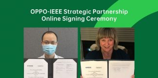 OPPO reach strategic partnership with IEEE to deepen international academic exchanges