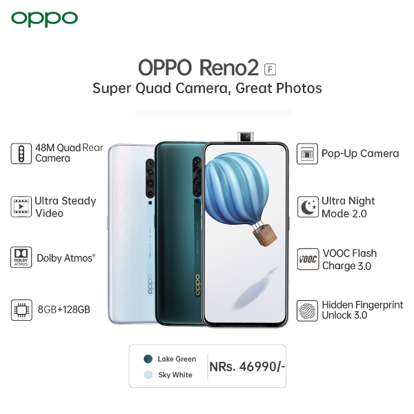 Oppo Reno2 F Features