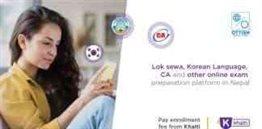 Ottish Starts Online Exam Preparation Courses in Kathmandu