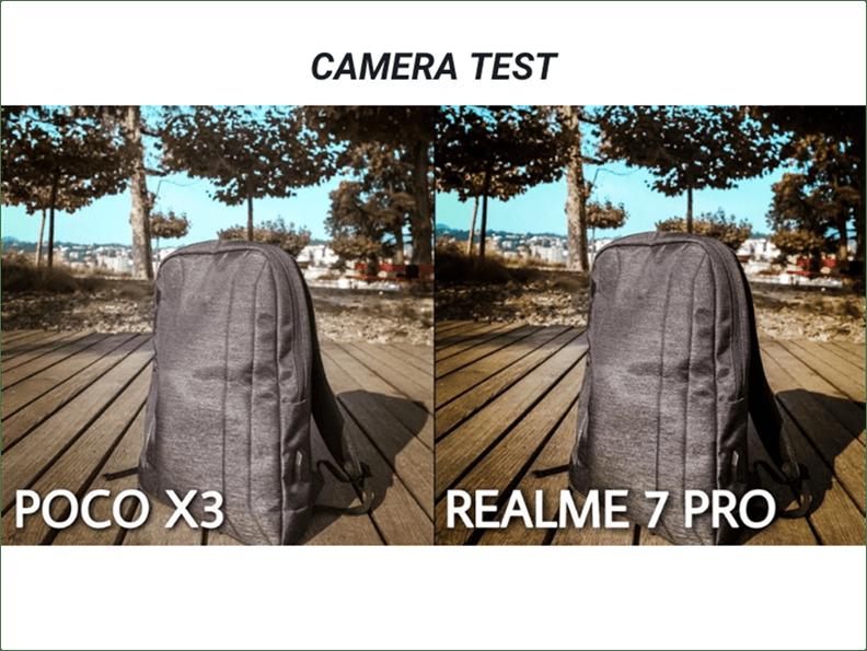 POCO X3 VS REALME 7 PRO CAMERA