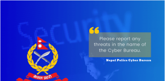 Report any Threats in the name of the Cyber Bureau