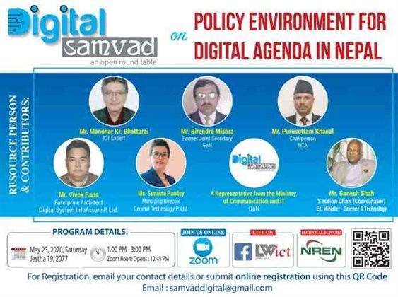 Digital Samvad - Policy Environment for Digital Agenda in Nepal