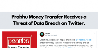 Prabhu Money Transfer Receives A Threat Of Data Breach On Twitter