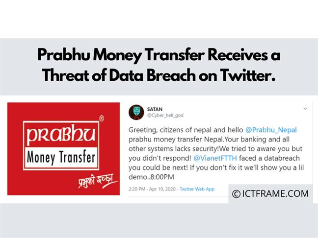 Prabhu Money Transfer Receives A Threat