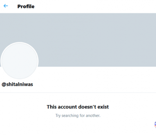 President's Twitter Account Deactivated