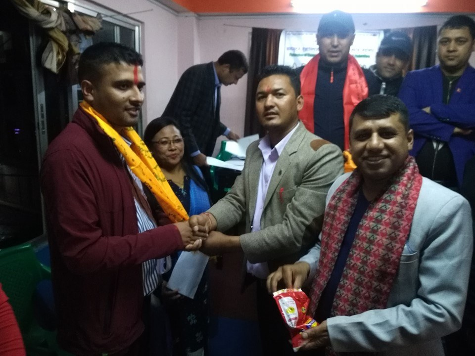 President Of CAN Federation Dolakha elected