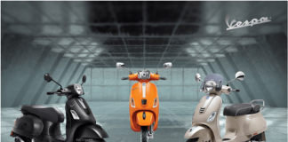Price of Vespa Scooter