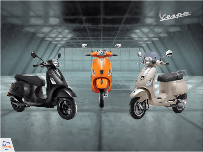 Price of Vespa Scooter