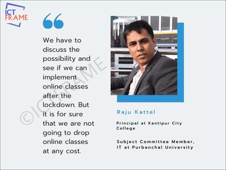 Interview with Raju Kattel - Principal, Kantipur City College