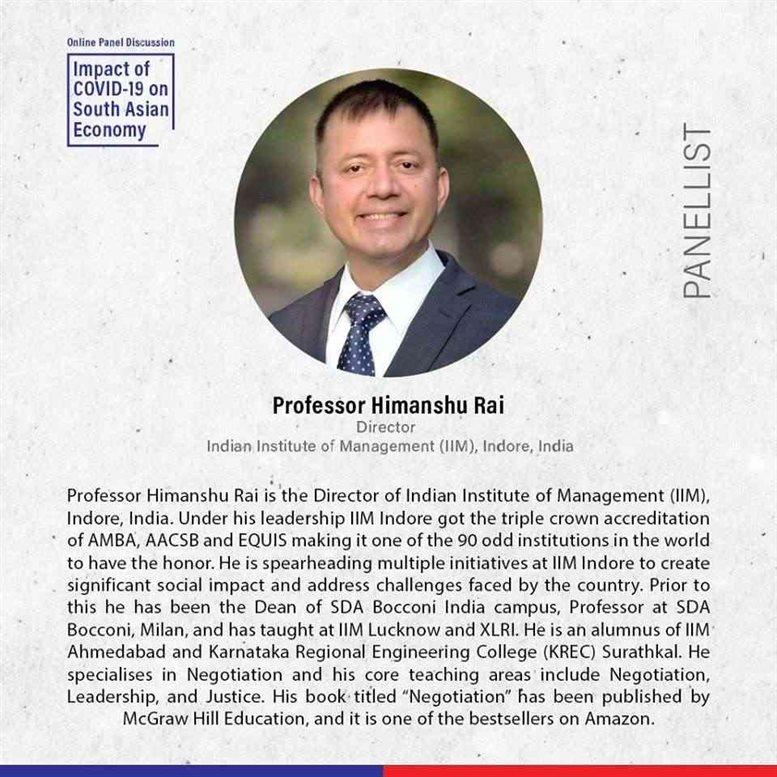 Professor Himanshu Rai