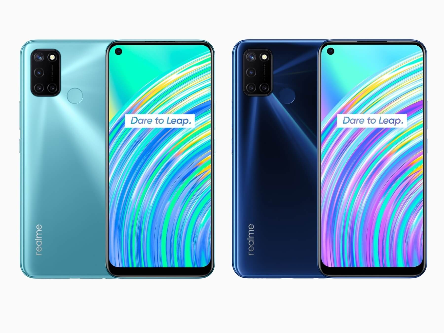 Realme C17 Design and Display