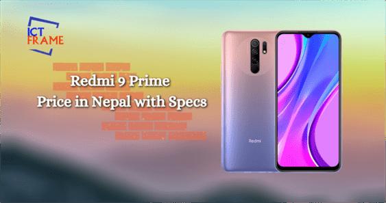 Redmi 9 Prime phone